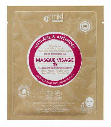 Masque Visage Anti-Âge Antirides certifié COSMOS NATURAL
