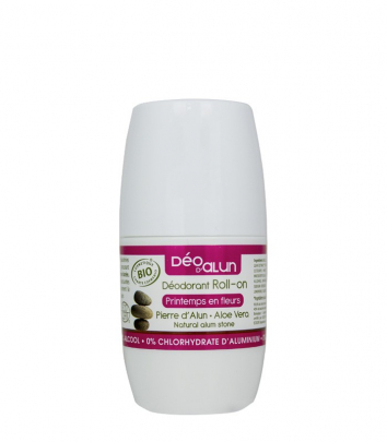 Scented Certified Organic Roll-on Alum Deodorant