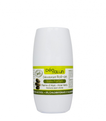 Certified Organic Roll-on Alum Deodorant