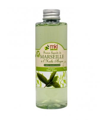 Savon de Marseille liquide 100ml - Thé vert