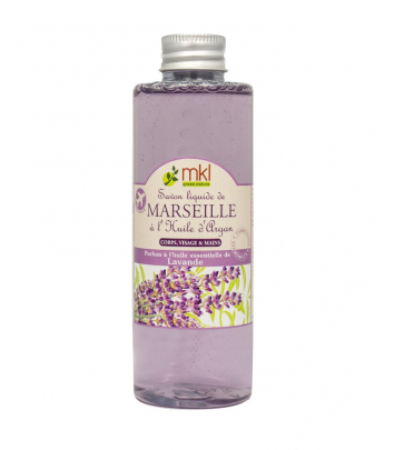 Savon de Marseille liquide 100 ml - Lavande