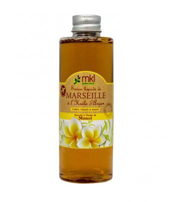 Savon de Marseille liquide 100 ml - Monoï