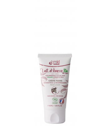 Organic donkey's milk face cream