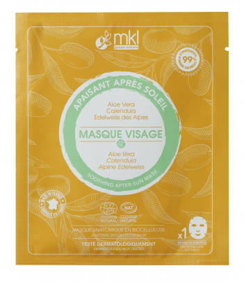Masque Visage Apaisant certifié COSMOS NATURAL
