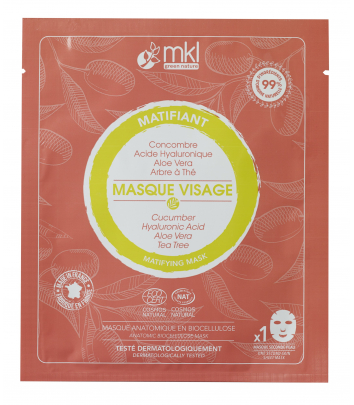 Masque Matifiant certifié COSMOS NATURAL