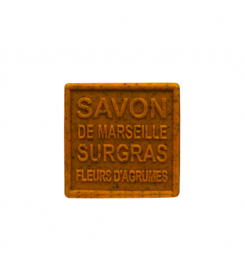 Savon de Marseille 100 g - Fleurs d'agrumes