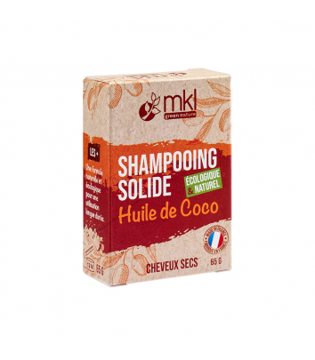 Shampooing solide 65 g - Huile de Coco