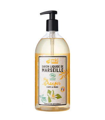 Liquid Marseilles Soap 1 L - Monoi Oil