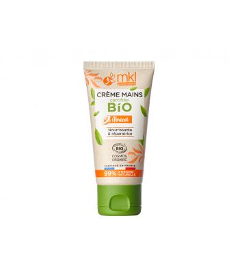 Crème mains certifiée BIO - Abricot